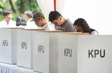 Sự cố hậu cần khiến 160.000 cử tri Indonesia phải bỏ phiếu muộn
