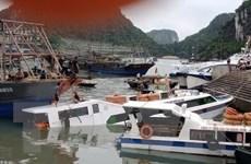 Xác định nguyên nhân chìm tàu chở khách tại cảng Cái Rồng