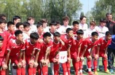 Đội tuyển U15 PVF tham dự Sportchain Cup 2019 tại Hà Lan