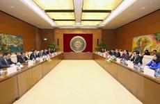 Quốc hội Việt Nam và Lào triển khai các hoạt động hợp tác mới