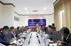 Hai nước Việt Nam-Lào tăng cường hợp tác về công tác dân tộc