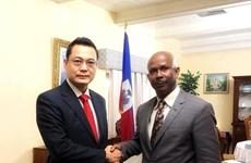Thúc đẩy hơn nữa quan hệ hữu nghị, hợp tác giữa Việt Nam và Haiti