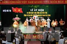 Tổ chức lễ kỷ niệm 115 năm ngày sinh Tổng Bí thư Trần Phú