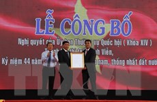 Hậu Giang công bố thành lập thị trấn Vĩnh Viễn thuộc huyện Long Mỹ