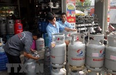 Giá gas ở các tỉnh, thành phía Nam tăng 2.000 đồng đối với bình 12kg