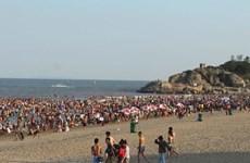 Đã có khoảng 600.000 du khách đổ về Sầm Sơn trong dịp nghỉ lễ
