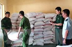 An Giang: Liên tiếp bắt giữ 2 vụ buôn lậu, thu giữ 10 tấn đường cát