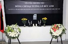 Lễ viếng đồng chí Lê Đức Anh tại Hong Kong, Malaysia, Hàn Quốc