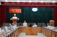 Đoàn Tiểu ban Văn kiện Đại hội XIII làm việc tại Thành phố Hồ Chí Minh