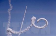 Đáp trả vụ nã rocket, Israel tuyên bố đóng các cửa khẩu vào Gaza