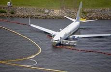 Mỹ xác định nguyên nhân khiến máy bay Boeing 737 lao xuống sông