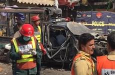 Nổ gần đền thờ Hồi giáo lớn ở Pakistan, ít nhất 18 người thương vong