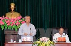 Đoàn Tiểu ban Văn kiện Đại hội XIII của Đảng làm việc tại Hải Phòng