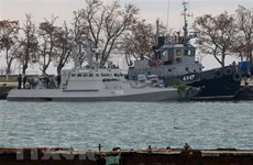 Ukraine kêu gọi Nga trả tự do cho các thủy thủ bị bắt gần Kerch