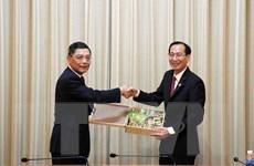 Thúc đẩy hợp tác giữa Thành phố Hồ Chí Minh và Thượng Hải