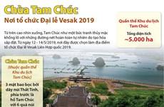[Infographics] Chùa Tam Chúc - nơi tổ chức Đại lễ Vesak 2019