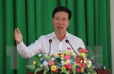 Trưởng Ban Tuyên giáo TW Võ Văn Thưởng tiếp xúc cử tri Đồng Nai