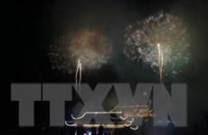 [Photo] Lung linh pháo hoa chào mừng Đại lễ Phật đản Liên hợp quốc