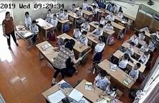 Thông tin chính thức về vụ cô giáo đánh học sinh tại Hải Phòng