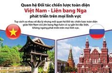 [Infographics] Quan hệ Đối tác chiến lược toàn diện Việt Nam-Nga