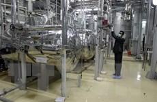 Iran quyết định tăng sản lượng urani làm giàu cấp độ thấp