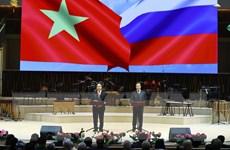 Năm hữu nghị Việt-Nga chính thức khai mạc tại thủ đô Moskva