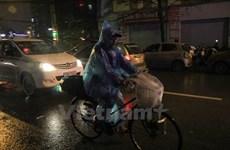Thủ đô Hà Nội có mưa dông trong đêm nay, đề phòng lốc sét