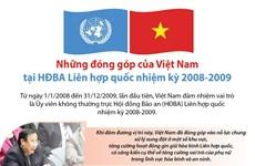 [Infographics] Những đóng góp của Việt Nam tại HĐBA Liên hợp quốc