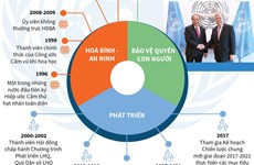 [Infographics] Việt Nam-Liên hợp quốc: Điển hình về hợp tác phát triển