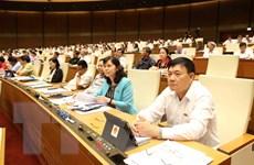 Kỳ họp thứ 7, Quốc hội khóa XIV: Cho ý kiến về 3 dự án luật