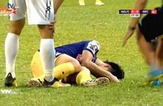 Trung vệ Đình Trọng bị chấn thương nặng, nguy cơ lỡ King's Cup 2019