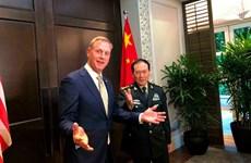 Bộ trưởng Quốc phòng Mỹ-Trung hội đàm bên lề Đối thoại Shangri-La