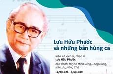 [Infographics] Nhạc sỹ Lưu Hữu Phước và những bản hùng ca