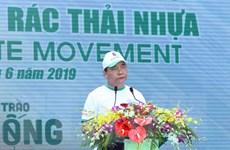 Thủ tướng dự Lễ ra quân toàn quốc phong trào chống rác thải nhựa