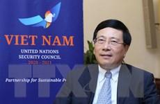 Việt Nam thúc đẩy các vấn đề toàn cầu trên cơ sở luật pháp quốc tế