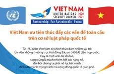 [Infographics] Việt Nam ưu tiên thúc đẩy các vấn đề toàn cầu