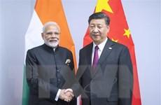 Lãnh đạo Trung-Ấn gặp nhau bên lề Hội nghị thượng đỉnh SCO