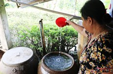 Hàng nghìn hộ dân vùng hạ của tỉnh Long An thiếu nước sạch