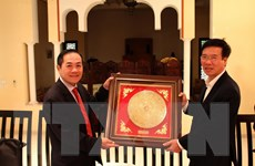 Trưởng ban Tuyên giáo Trung ương Võ Văn Thưởng thăm Maroc