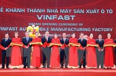 Thủ tướng mong muốn Vinfast tạo ra dấu ấn và bản sắc của người Việt