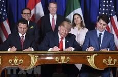 Tổng thống Mỹ Trump hối thúc Quốc hội sớm phê chuẩn USMCA