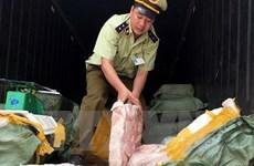 Bình Phước: Tiêu hủy hàng trăm kg mỡ, da lợn bốc mùi hôi thối