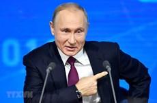 Tổng thống Nga Putin lần thứ 17 giao lưu trực tuyến với người dân