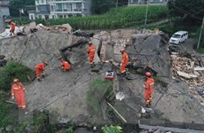 Thủ tướng gửi thư thăm hỏi về tình hình thiên tai tại Trung Quốc