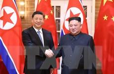 Lãnh đạo Triều Tiên-Trung Quốc nhất trí củng cố quan hệ song phương