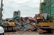 Sập tòa nhà 7 tầng ở Campuchia, có thể nhiều người bị vùi lấp