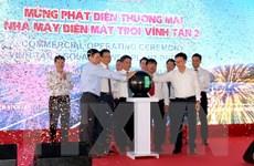 Phát điện thương mại Nhà máy điện Mặt Trời Vĩnh Tân 2 ở Bình Thuận