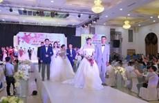 Lần đầu tổ chức lễ cưới tập thể cho công nhân lao động ở Thái Nguyên