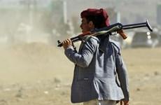 Giao tranh dữ dội giữa lực lượng chính phủ Yemen và phiến quân Houthi