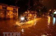 Khu vực nội thành thủ đô Hà Nội còn 16 điểm úng, ngập cục bộ